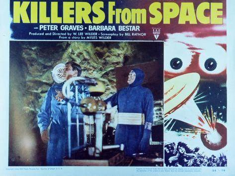 Killers from Space, 1954 Kunsttrykk