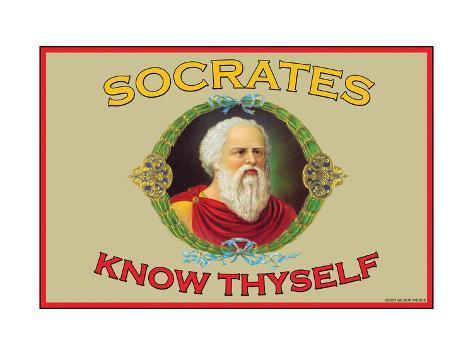 Know Thyself Kunsttryk