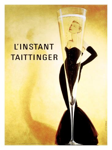 L'Instant Taittinger Giclée-tryk