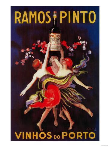 Ramos Pinto Vintage Poster - Europe Kunsttrykk