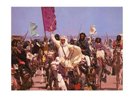 Lawrence of Arabia, 1963 Kunsttryk