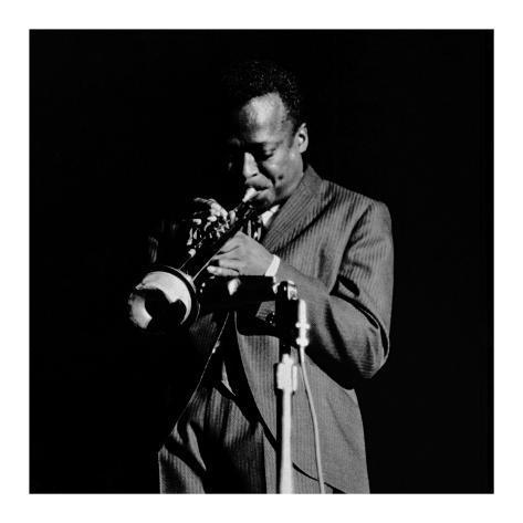 Miles Davis Kunsttrykk