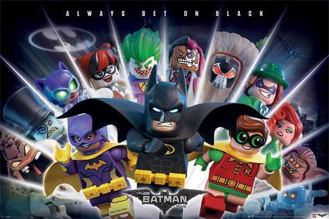 Lego Batman- Always Bet On Black Plakat