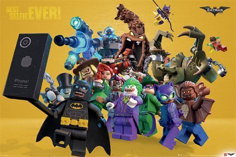 Lego Batman- Best Selfie Ever! Plakat
