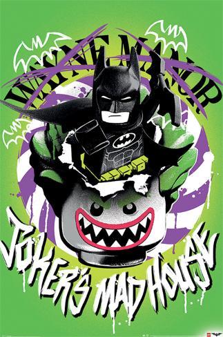 Lego Batman- Joker?S Madhouse Plakat