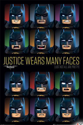 Lego Batman- Justice Wears Many Faces Plakat