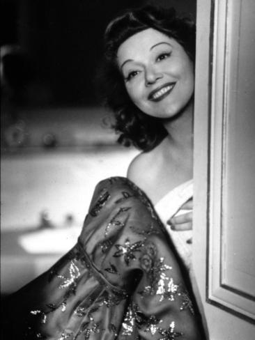 Edwige Feuillère: Le Blé En Herbe, 1954 Fotografisk tryk