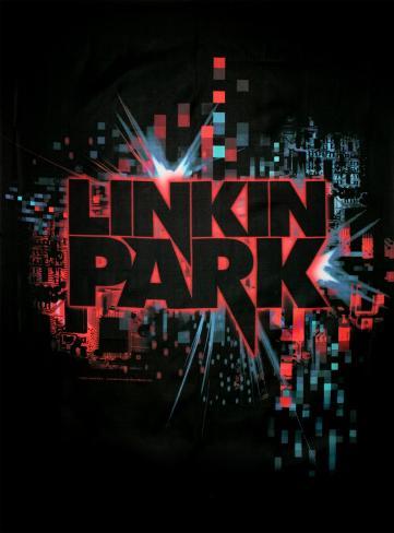 Linkin Park - Splatter Stofplakat
