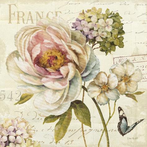 Marche de Fleurs III Kunsttryk