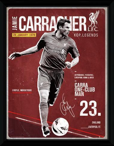 Liverpool- Carragher Retro Samletrykk
