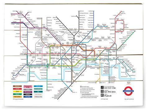 kart over undergrunn london London, kart over undergrunnsbane Treskilt hos AllPosters.no kart over undergrunn london