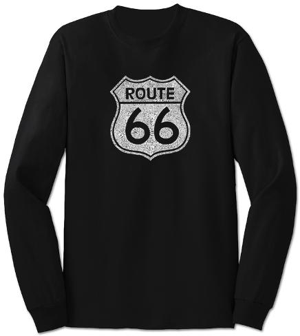 Long Sleeve: Route 66 Lange ærmer