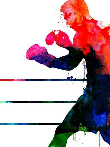 Jake Watercolor Kunsttryk