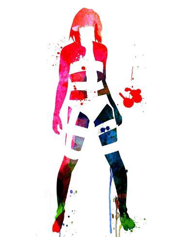 Leeloo Watercolor Kunsttryk