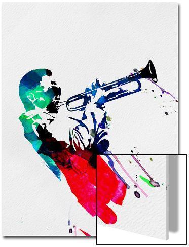 Miles Watercolor Kunst på akryl