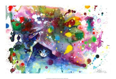 Miav - Meow Kunsttryk