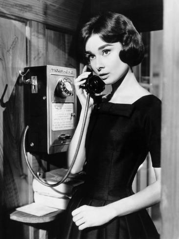 Love in the Afternoon, Audrey Hepburn, 1957 Foto
