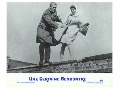 Love With the Proper Stranger, French Movie Poster, 1964 Kunsttrykk