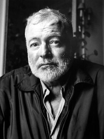 Ernest Hemingway (1899-1961) Fotografisk trykk