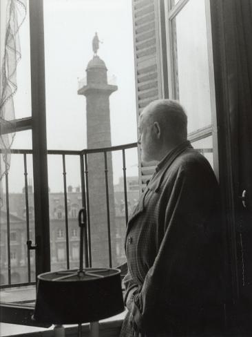 Ernest Hemingway in Paris, September 14, 1956 Fotografisk trykk