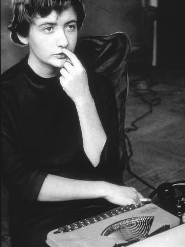 Françoise Sagan Fotografisk trykk