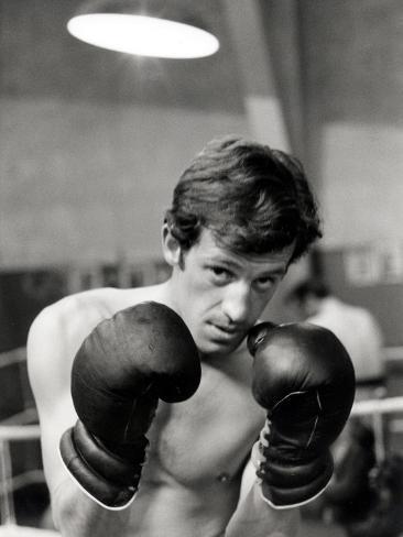 Jean-Paul Belmondo, June 21, 1960 Fotografisk trykk