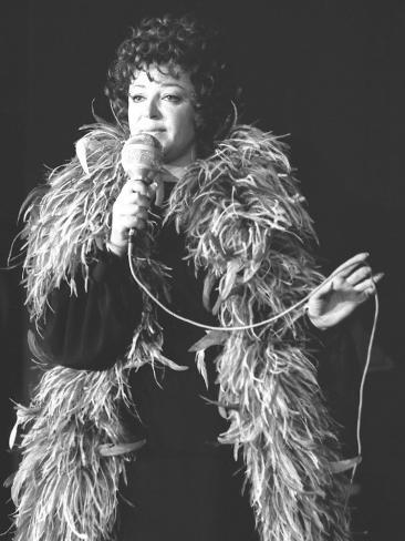 Régine, 1968 Fotografisk trykk