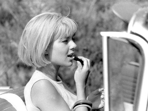 Sylvie Vartan, June 6, 1963 Fotografisk trykk