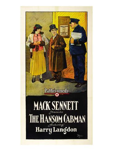 Hansom Cabman Premium Giclee-trykk