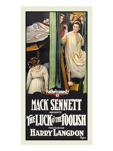 The Luck O' the Foolish Premium Giclee-trykk