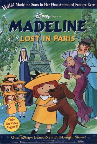 Madeline: Lost in Paris Plakat