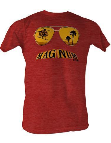 Magnum P.I. - Mustache T-skjorte