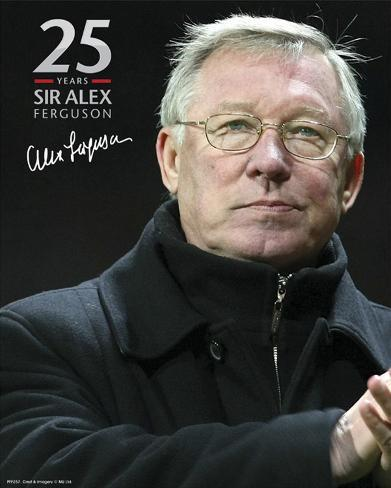Manchester United-Sir Alex 25 Years Foto