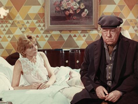 Annie Cordy and Jean Gabin: Le Chat, 1971 Fotografisk tryk