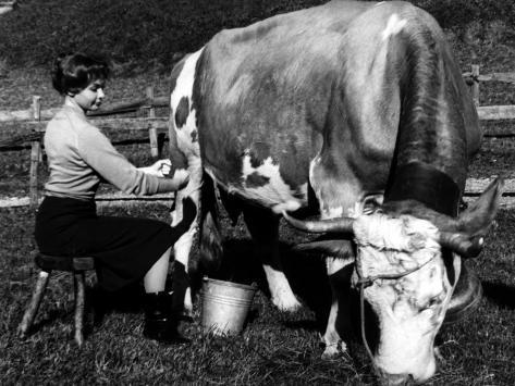 Françoise Arnone: Thérèse Etienne, 1958 Fotografisk tryk
