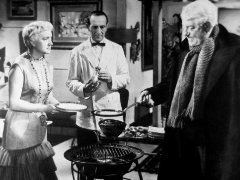 Jean Gabin and Jacqueline Maillan: Archimède, Le Clochard, 1959 Fotografisk trykk