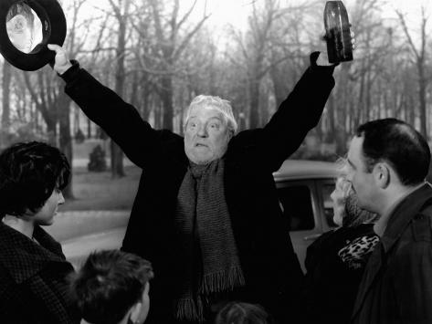 Jean Gabin: Archimède, Le Clochard, 1959 Fotografisk trykk