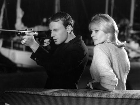 Jean-Louis Trintignant and Françoise Brion: Le Coeur Battant, 1960 Fotografisk tryk