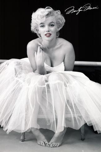 Marilyn Monroe, ballerina Plakat