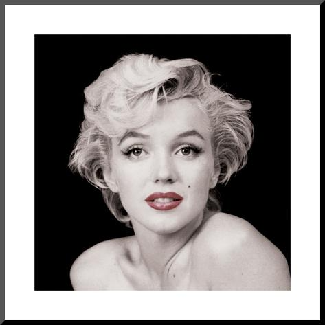 Marilyn Monroe Monteret tryk