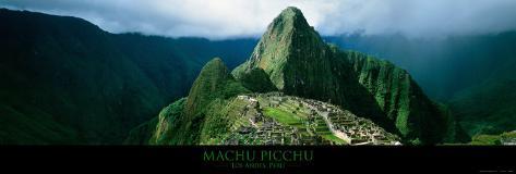 Machu Picchu, Andes, Peru Kunsttryk