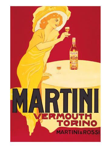Martini and Rossi, Vermouth Torino Premium Giclée-tryk