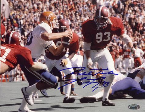 Marty Lyons Alabama Action vs Florida Autographed Photo (Hand Signed Collectable) Foto