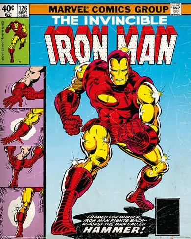 Marvel Classic - Iron Man Cover