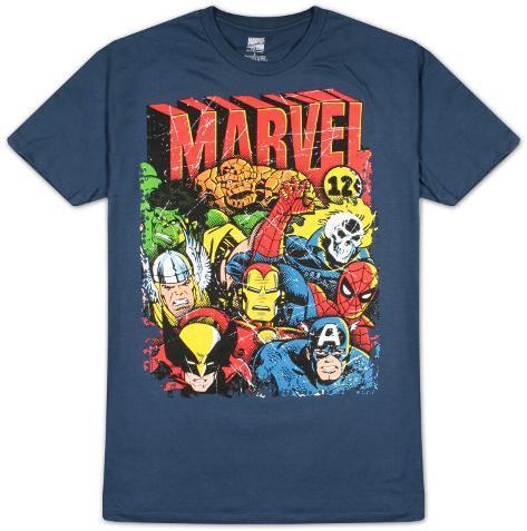 Marvel - Squad Up T-skjorte