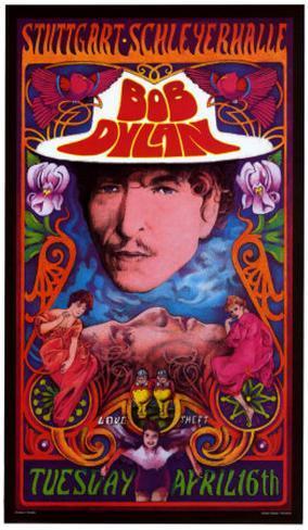Bob Dylan in Concert, Germany Kunsttrykk