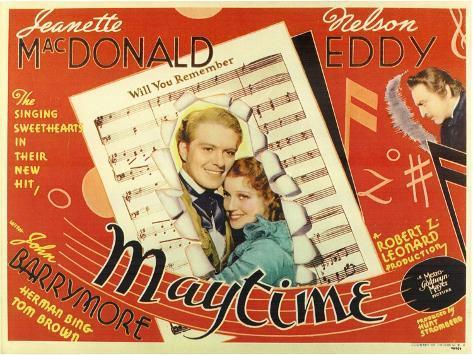 Maytime, 1937 Kunsttrykk