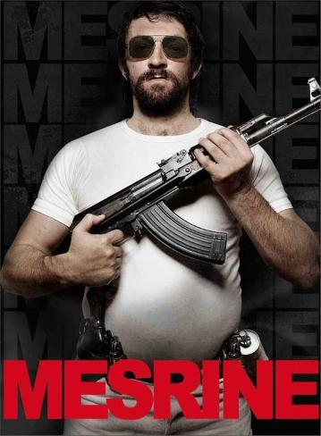 Mesrine: Public Enemy No. 1 Movie Poster Mestertrykk