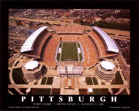Pittsburgh  (First Game, Heinz Field,  August 25, 2001) Kunsttrykk
