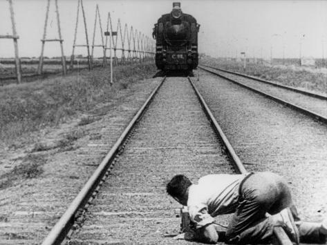 Mikhail Kaufman: Chelovek S Kino-Apparatom, 1929 Fotografisk tryk